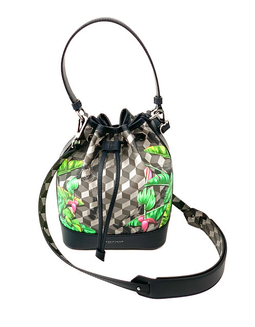 Loup Noir Handbag Bucket Black/Cavendish