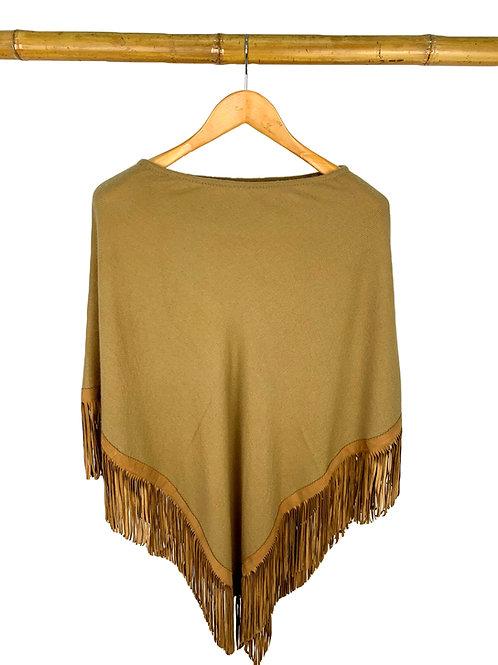 Classic Poncho Camel