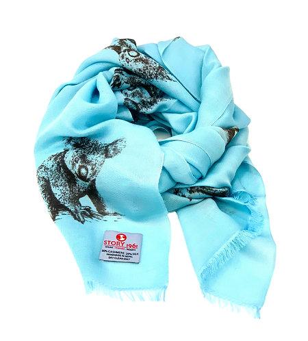 Waterpashmina Scarf Koala Blue