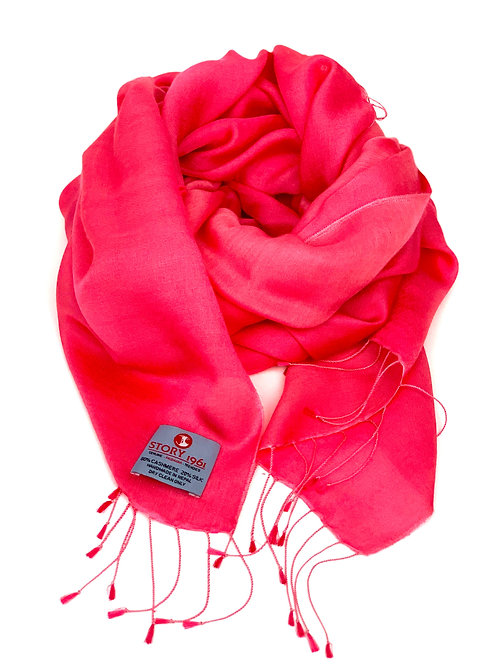Waterpashmina Scarf Sun Kissed Coral
