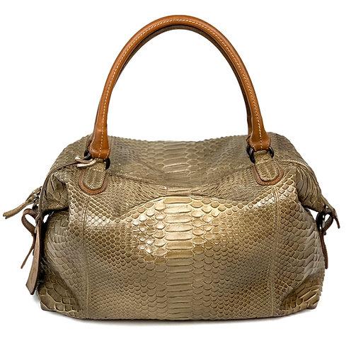 Reptile's House Handbag Phyton Sand