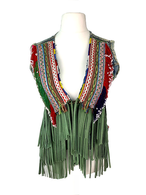 Dassios Jeans Vest Green