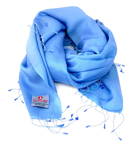 Waterpashmina Scarf Sky Blue