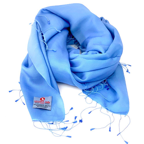 Waterpashmina Scarf Sky Blue