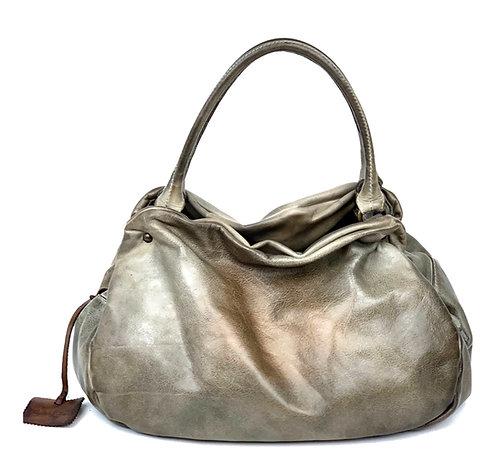 Reptile's House Handbag Leather Taupe