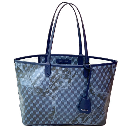 Loup Noir Handbag Shopper Dark Blue