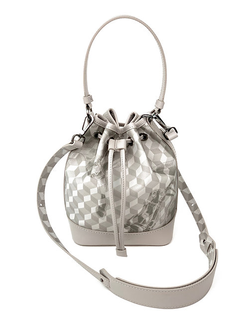 Loup Noir Handbag Bucket Light Gray
