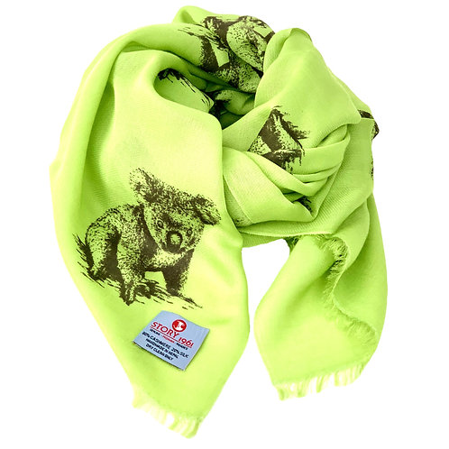 Waterpashmina Scarf Koala Green