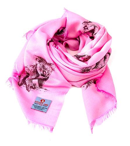 Waterpashmina Scarf Koala Pink