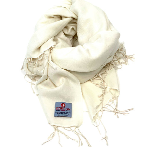 Genuine Scarf White