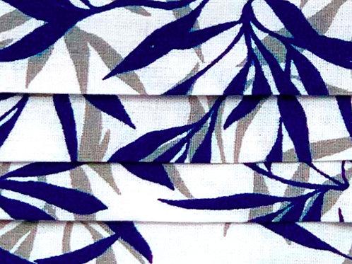 Mask Jungle Navy Blue/Gray