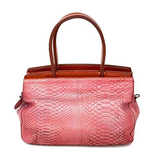 Reptile's House Handbag Phyton Old Rose