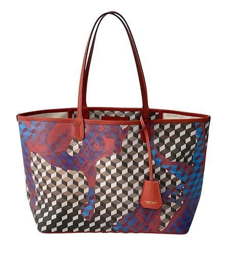 Loup Noir Handbag Shopper Small Brown/Brandy