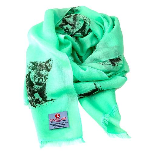 Waterpashmina Scarf Koala Mint