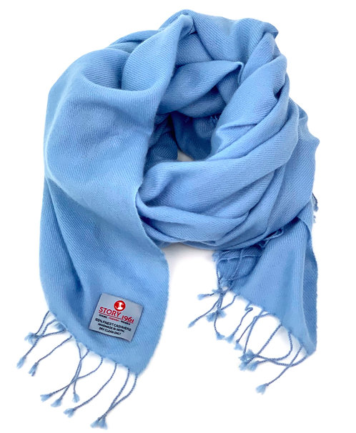 Stole Scarf Baby Blue