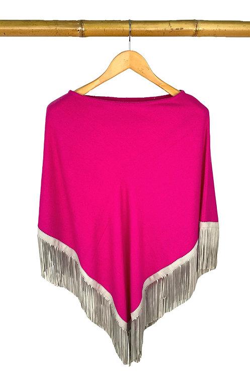 Classic Poncho Pink