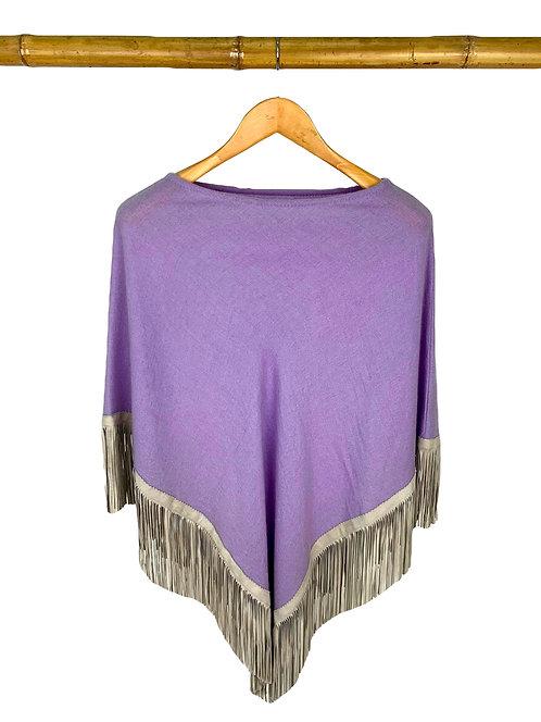 Classic Poncho Lavender