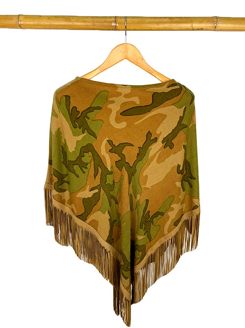 Classic Poncho Camouflage Military