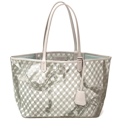 Loup Noir Handbag Shopper Light Gray
