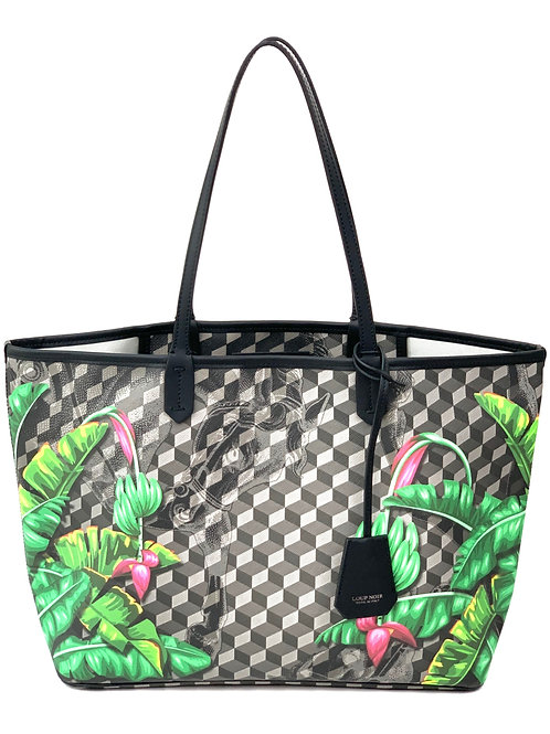 Loup Noir Handbag Shopper Black/Canvedish