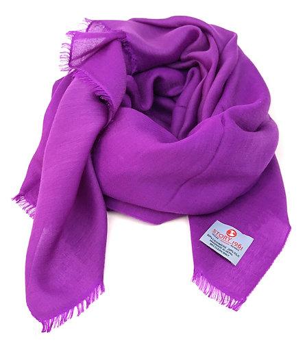Waterpashmina Scarf Purple
