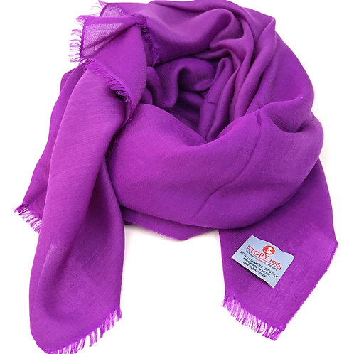 Waterpashmina Scarf Purple