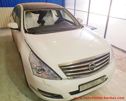 Замена лобового стекла Nissan Teana