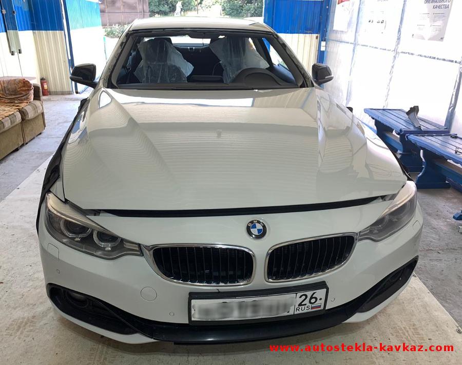 Замена лобового стекла BMW 4