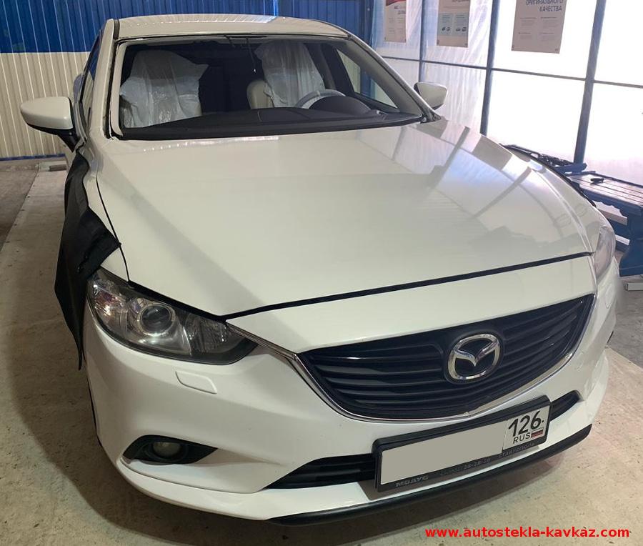 Замена лобового стекла Mazda