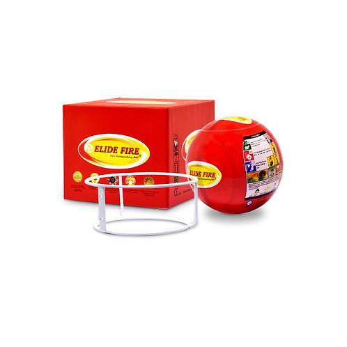 3 Bolas extintores Mini Elide Fire® vermelha