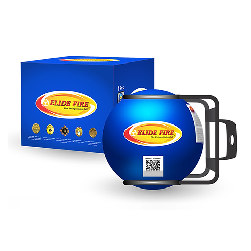 3 Bolas extintores Mini Elide Fire® azul