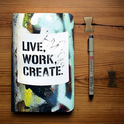 LIVE WORK CREATE | JOURNAL/SKETCHBOOK