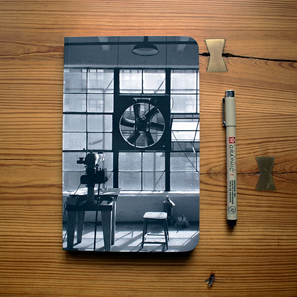 INDUSTRIAL WORKSPACE | JOURNAL/SKETCHBOOK