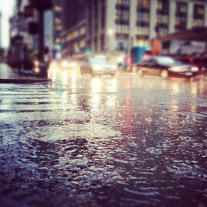 POURING RAIN | PRINT