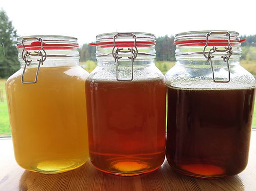 Honey: 2 pound jars