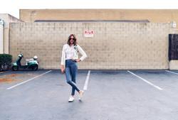 Model in Carpark