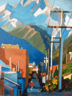 Back Alley in Banff