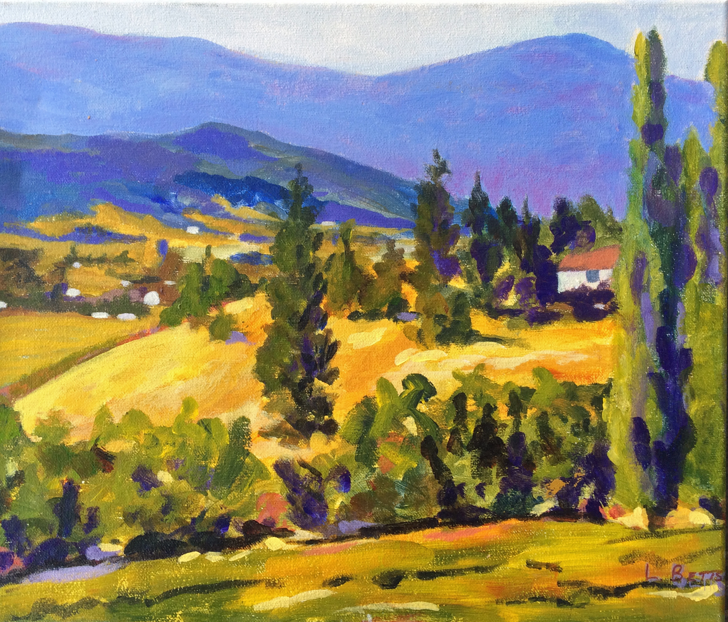 Okanagan Colours