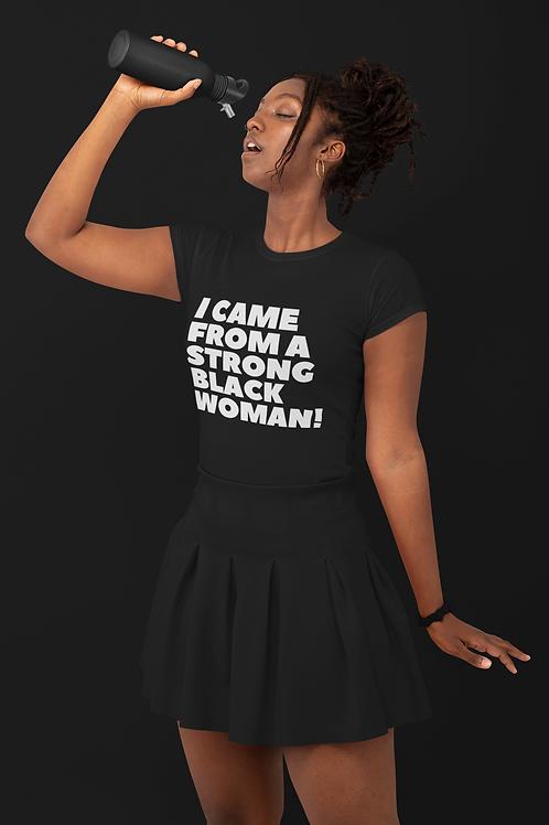 Women's Strong Black T-shirt