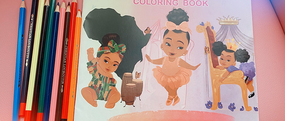 Abc's For Brown Babies Coloring Book