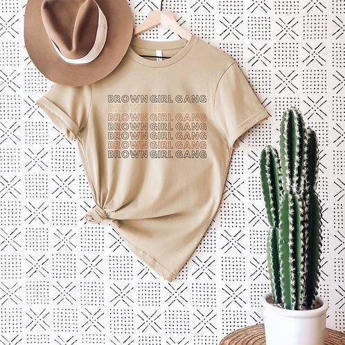 Brown Girl Gang T-Shirt (Kids)