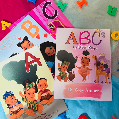 Large ABC's For Brown Babies Game