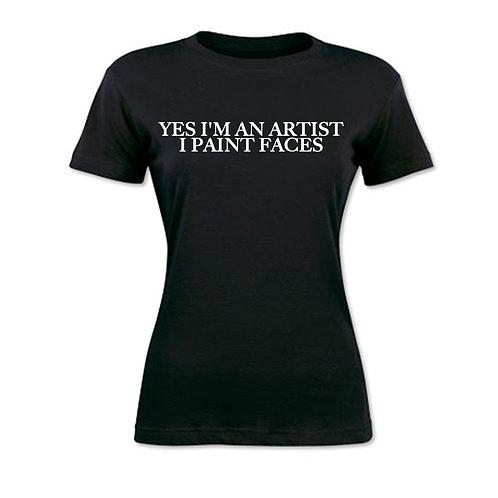 Paint Faces shirt