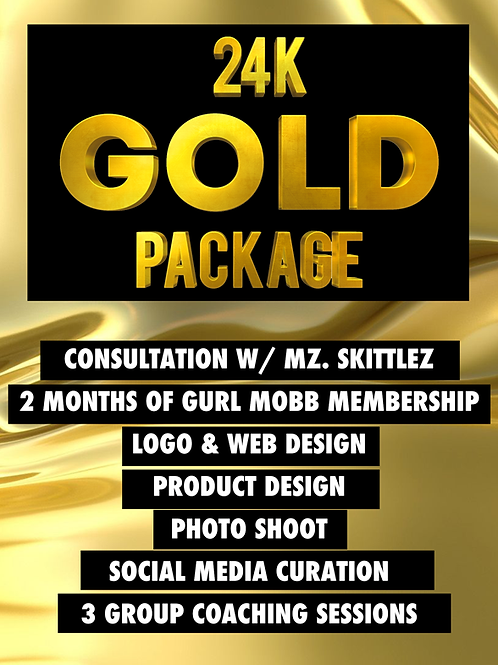 THE 24K GOLD PACKAGE