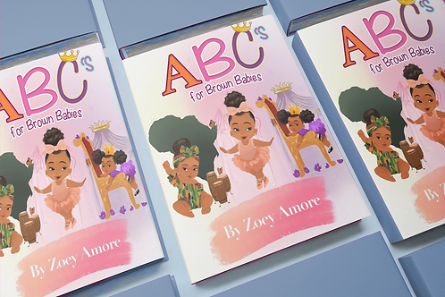 Abc's For Brown Babies Book