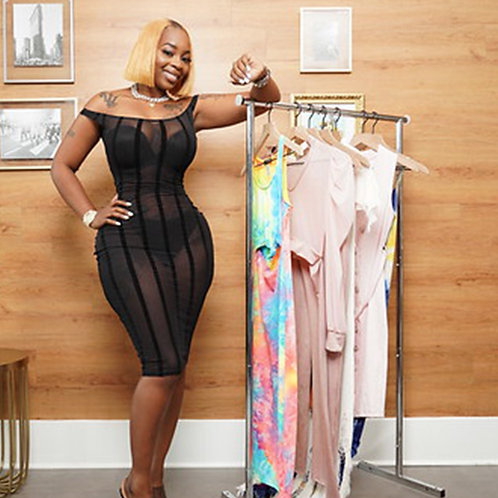 Boss Babe Bodycon Dress