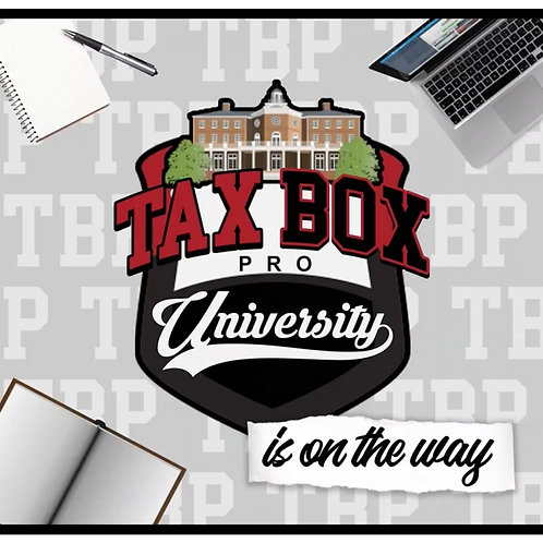 Tax Box Pro University Express Course