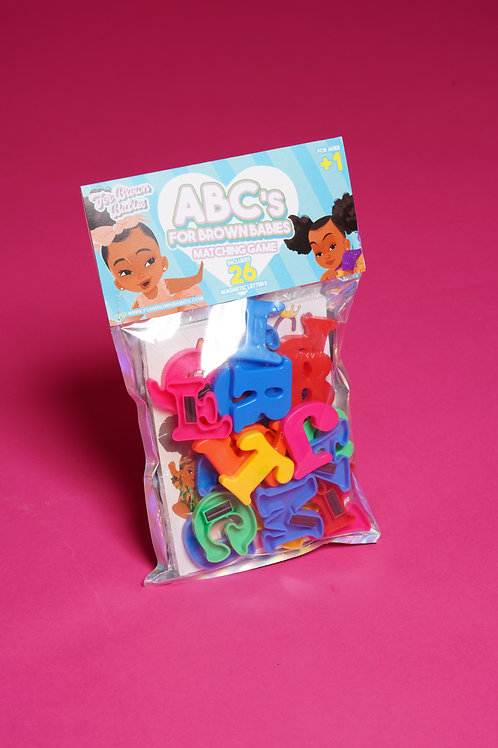 Abc's For Brown Babies Game