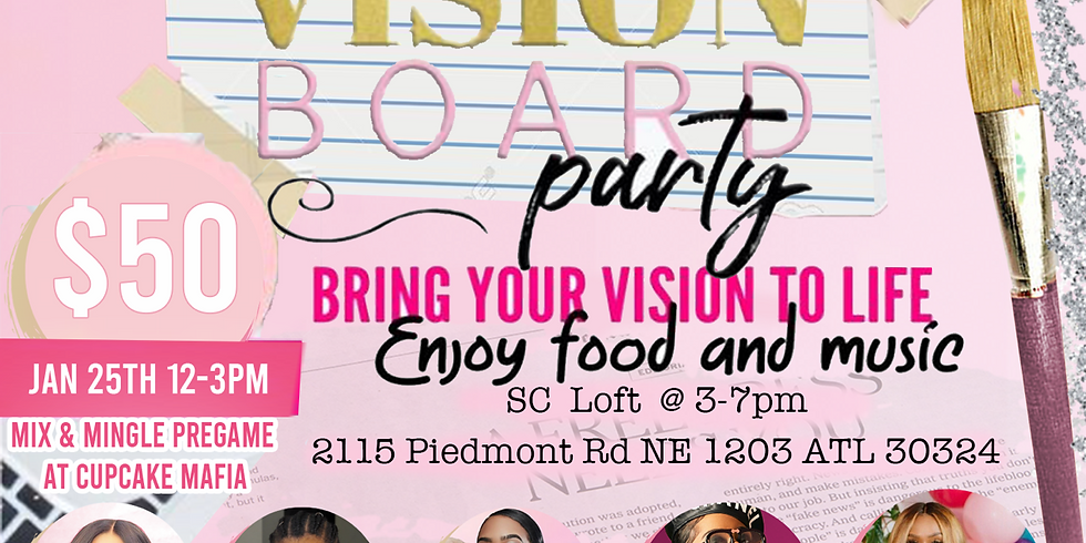 Mingle & Manifest Vision Board Party
