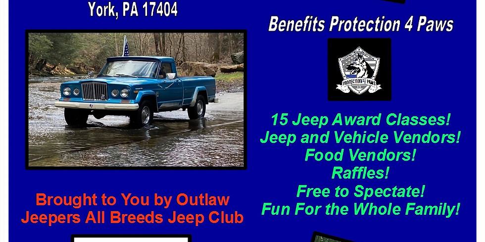 Tires for Paws Jeep Show